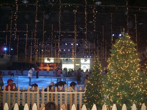 Snow at the fair