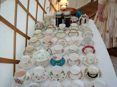 Mismatched teacups