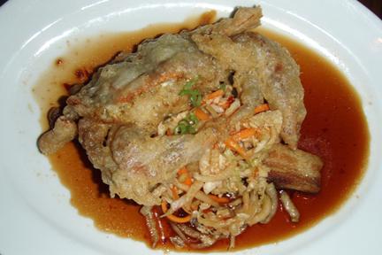 Softshell Crab, Kimchi, Pork Belly, Chili Soy, MyLastBite.com