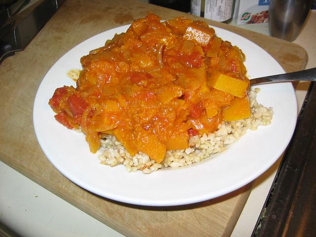 Butternut squash stew
