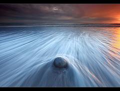 Rounded by Waves - Hafnarfjörður, Iceland by orvaratli