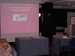 European Corporate Blogging Summit