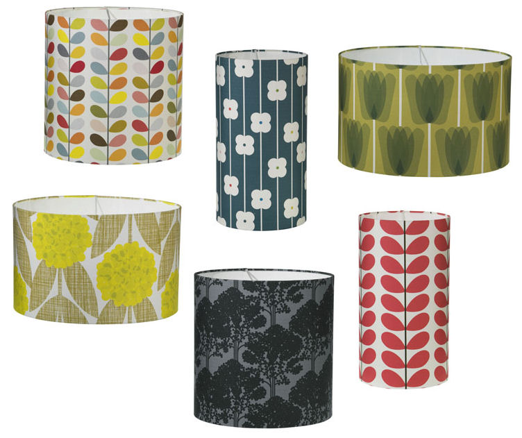 Orla Kiely Lamp Shades: In Stock!