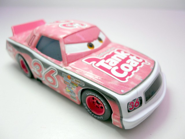DISNEY CARS KMART COLLECTOR DAY 5  TANK COAT RACER (2)