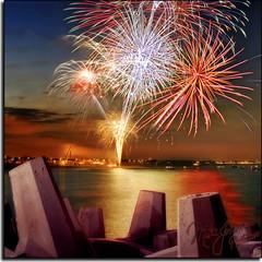 Fireworks on Planet Krypton by MikeJonesPhoto