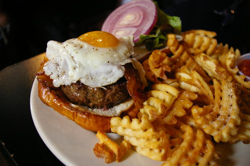 Kuma's Corner - the burger