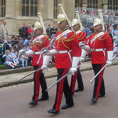 Household Cavalry on Garter Day