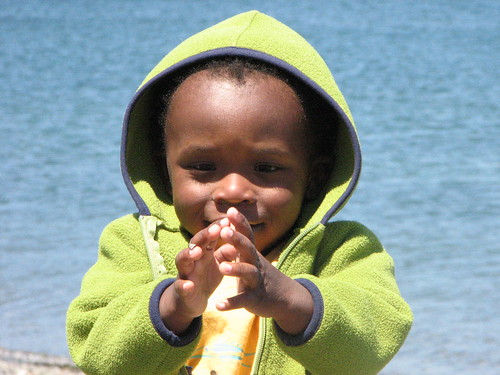 Kayleb at the Beach