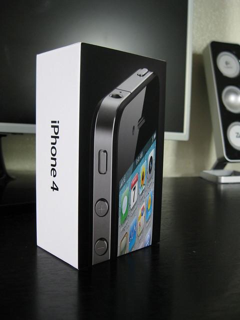 iPhone 4 box
