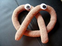 a pretzel.