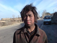 Young coal worker in Linfen (Shanxi, China)