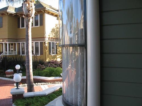 Curved Bay Window