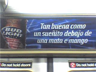 Bud Light's Latest (and Awful) Spanish Language Advertisements in ...