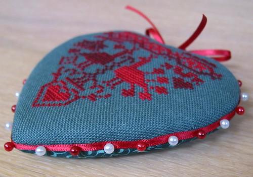 Heart Shaped Pinkeep - side