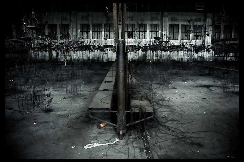 urbex urban exploration decay abandoned Deutschland infiltration Germany Zeche Hugo steel works