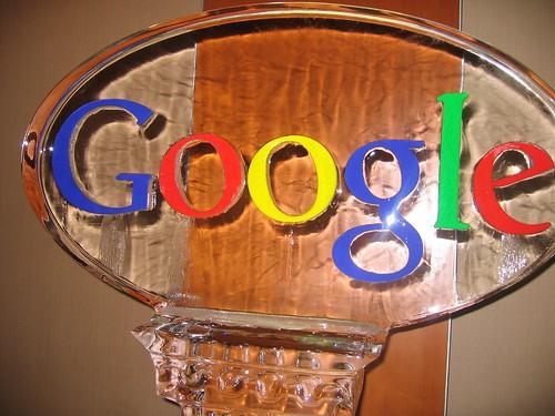 Google Ice Sculpture - SMX Seattle 2007