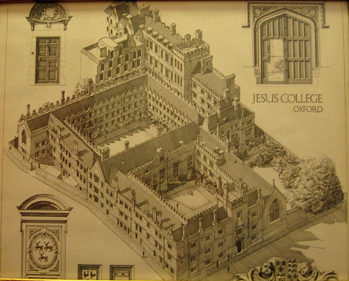 Jesus College drawing