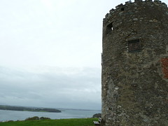 Tullyboard windmill Portaferry and view to Strangford Lough