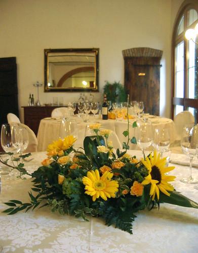Tavolo Matrimonio Girasoli : Addobbi floreali fioristailtulipano pagina