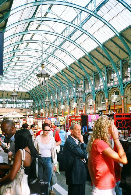 Covent Garden, London - May 2007