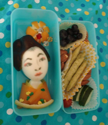Geisha Girl Bento by Sakurako Kitsa on Flickr