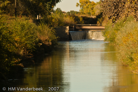 Water Diversion Channel