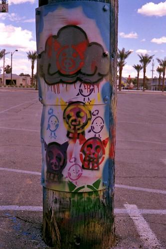 Grafitti in the Arts District, Downtown Las Vegas