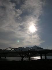 33.關渡大橋與夕陽 (2)