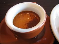 Gorgeous espresso at Gimme!