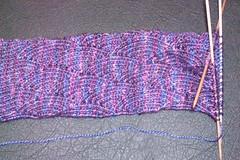 Pomatomus socks in progress