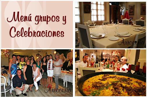 Celebra aquí tus cenas de cuadrilla, comidas familiares y celebraciones.  Te prepararemos un menú especial para la ocasión.
