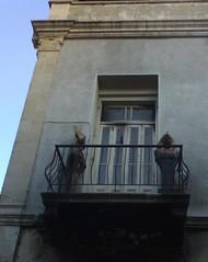balcony tomb entrance