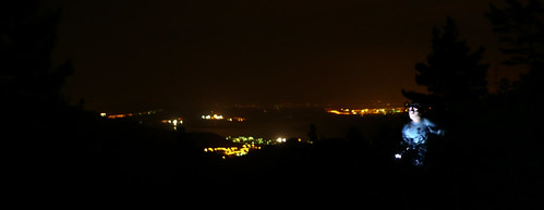 Vistas nocturas desde La Pedriza