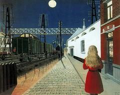 Delvaux, Paul  - La solitude  - 1955