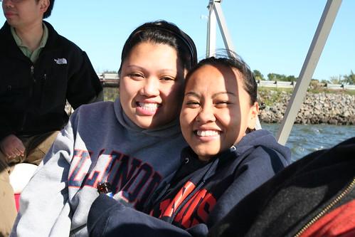 Michelle and Samantha