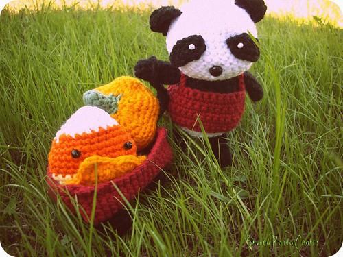 panda trick or treat