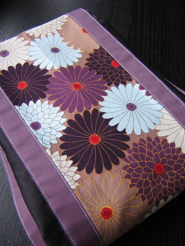 Asian flower pouch sling