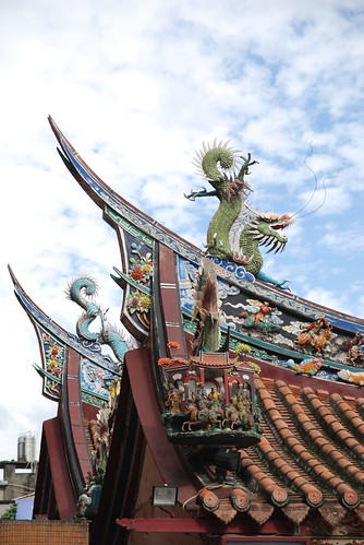 台北霞海城隍廟一角