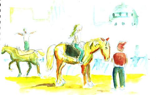 cirque-horses