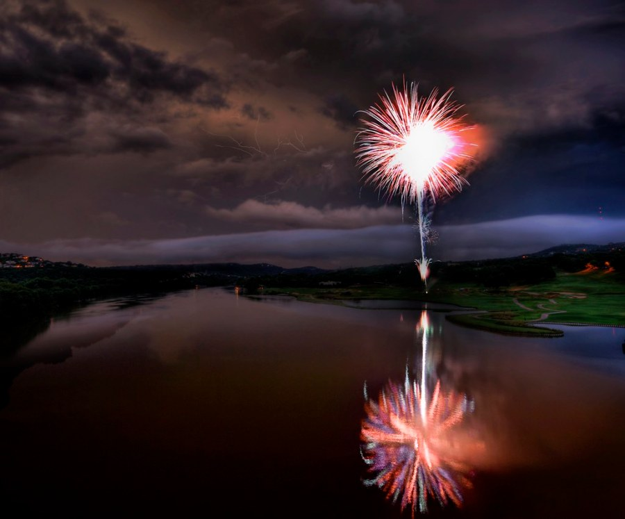 Fireworks in the Lightning Storm