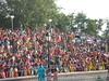 Closing the border ceremony at Wagah near Amritsar