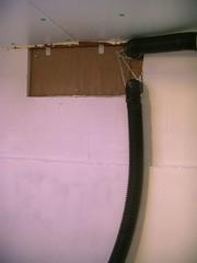 Root cellar ventilation pipes