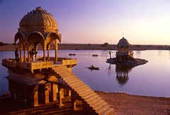Gadi Sagar, Jaisalmer, Rasjasthan(North India)