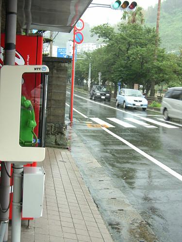 雨�的宿町街道
