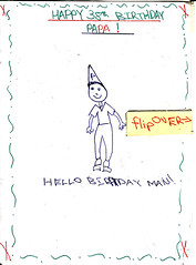 birthday card from alex