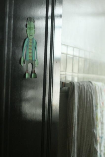 beware the bathroom