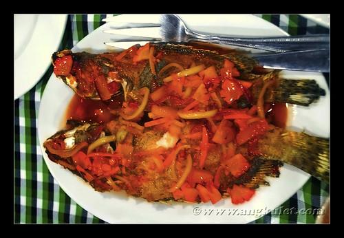 Eating at Batanes Resort, Batan Island