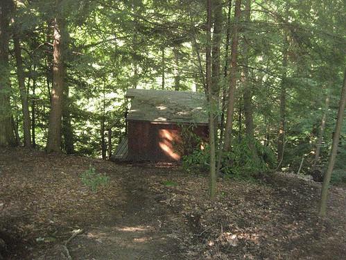 our hillside hut
