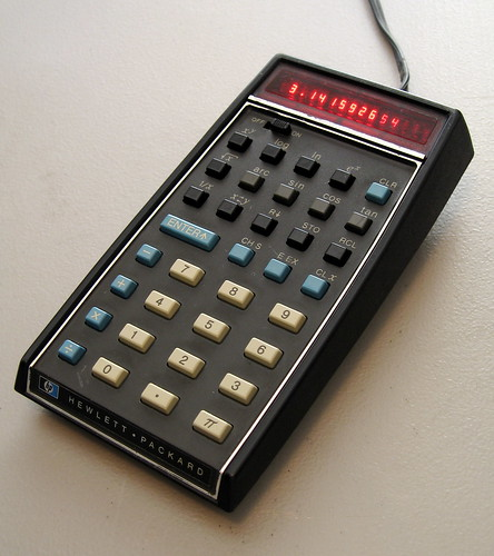 HP 35 Calculator
