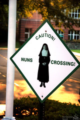 Caution! Nuns Crossing!